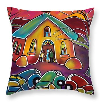 A Full House Throw Pillow