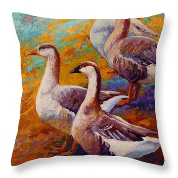 Geese Throw Pillows