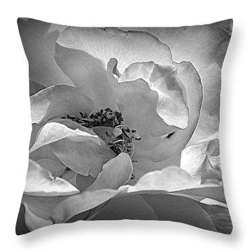 Throw Pillow featuring the photograph A Garden Treasure by Lori Seaman
