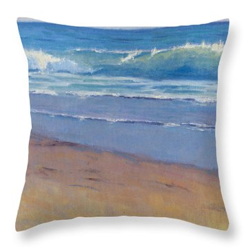 Gentle Wave / Crystal Cove Throw Pillow