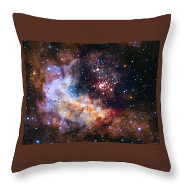 a giant cluster of about 3,000 stars called Westerlund Throw Pillow