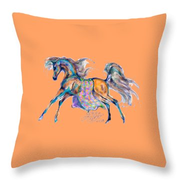 A Gift For Zeina Throw Pillow by Stacey Mayer