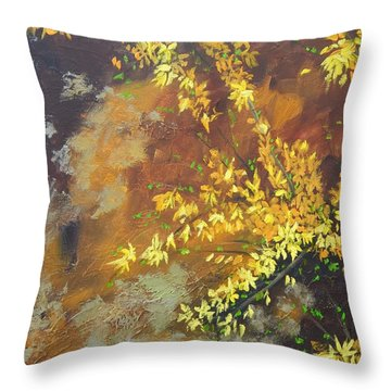 A Gift To The Giver Throw Pillow by Sue Furrow