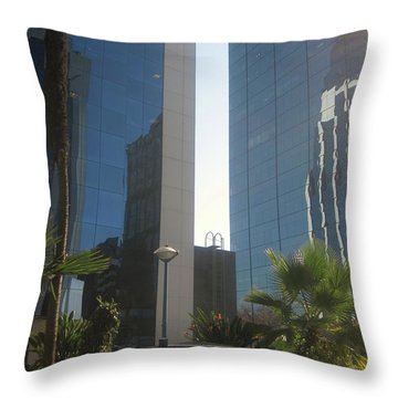 A Glass For Everyone Throw Pillow by Robert Margetts