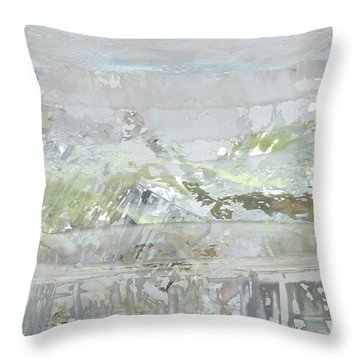 A Glass Half Full Throw Pillow