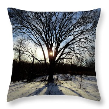 A Glimmer Of Hope  Throw Pillow