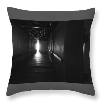 A Glimpse Into The Future Throw Pillow