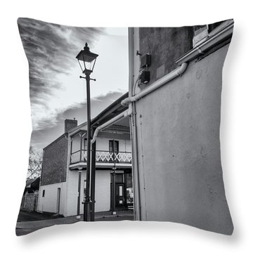Throw Pillow featuring the photograph A Glimpse by Linda Lees