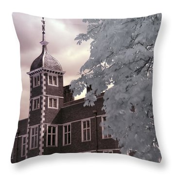 A Glimpse Of Charlton House, London Throw Pillow