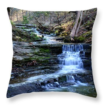 A Glimpse Of Old Oklahoma Throw Pillow