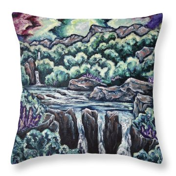 A Glimpse Of Time Throw Pillow