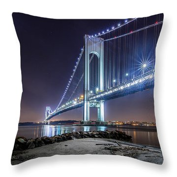A Good Evening Throw Pillow