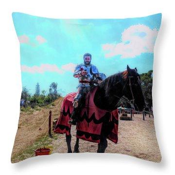 A Good Knight Throw Pillow