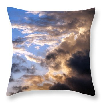a Good Morning Throw Pillow by Allen Carroll