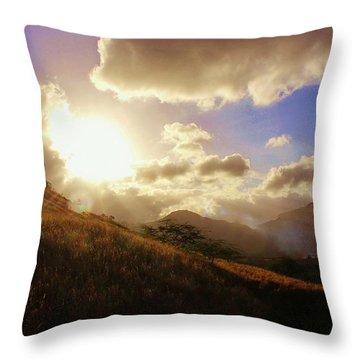A Good Morning Throw Pillow