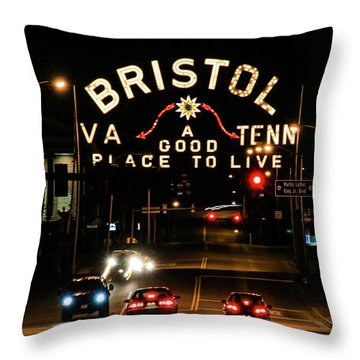 A Good Place To Live Throw Pillow