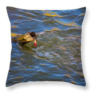 A Good Try Throw Pillow