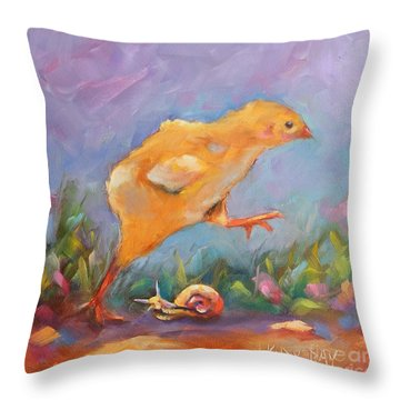 A Gracious Friend Throw Pillow