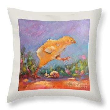 A Gracious Friend Throw Pillow