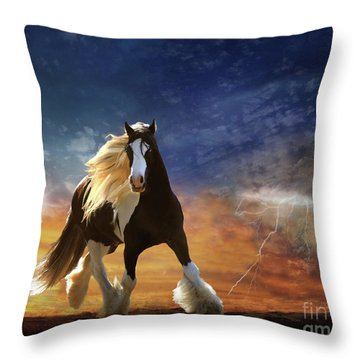A Gypsy Storm Throw Pillow