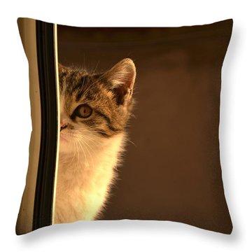 A Half-portrait Throw Pillow