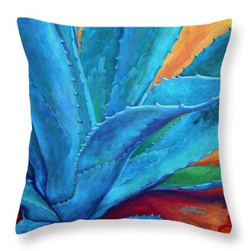 A Hand Out Throw Pillow