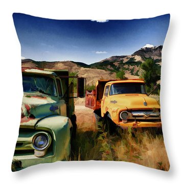 A Hard Day's Night Throw Pillow