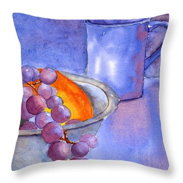 A Healthy Breakfast. Throw Pillow