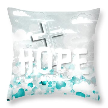 A Heart For Jesus Throw Pillow