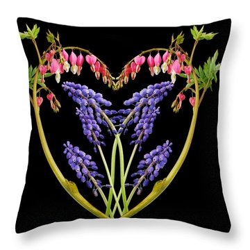 A Heart Of Hearts Throw Pillow by Michael Peychich
