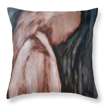 A Heavy Thought Throw Pillow