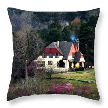 A Home In The Country Throw Pillow