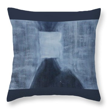 A Human Can Shed Tears Throw Pillow
