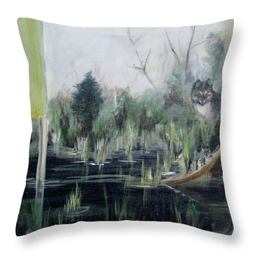 A Humboldt Holiday Throw Pillow