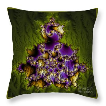 A Jaunt Through The Forest Throw Pillow