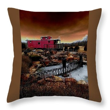A Journey Throw Pillow