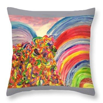 A Joyful Noise Throw Pillow