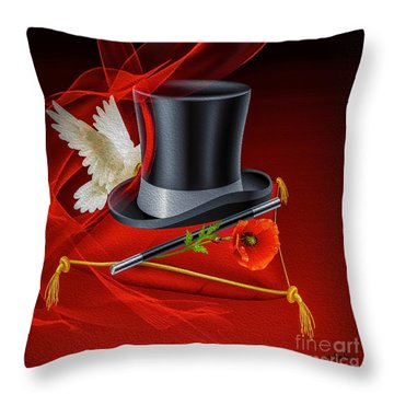 A Kind Of Magic Throw Pillow