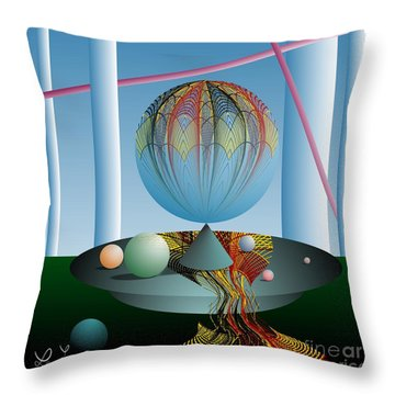 A Kind Of Magic Throw Pillow by Leo Symon