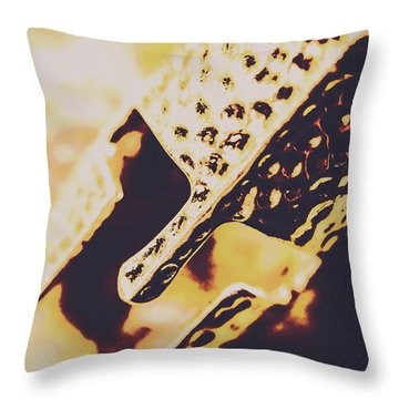 A Knights Guard Throw Pillow