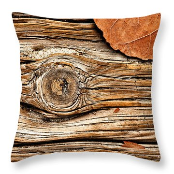 A Knot Throw Pillow by Christopher Holmes