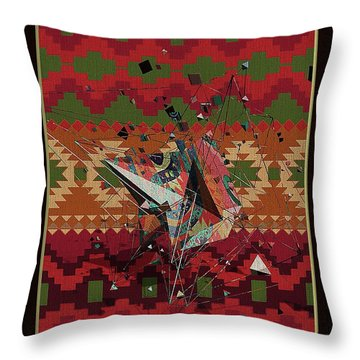 A La Kandinsky C1922 Throw Pillow