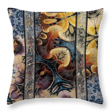 A Labor Of Love Throw Pillow by Kim Redd
