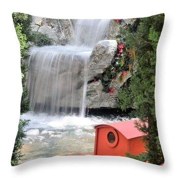 A Lady Named Rosa Throw Pillow