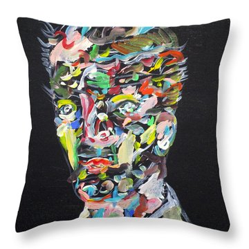 Throw Pillow featuring the painting A Life Full Of Oppurtunities by Fabrizio Cassetta