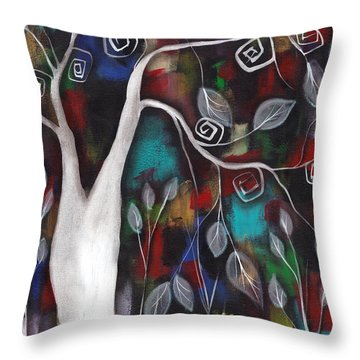 A Lifetime Of Color Throw Pillow