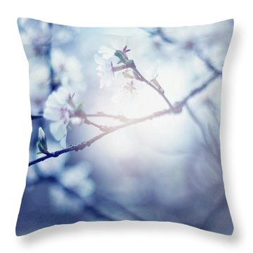 A Light Exists In Spring Throw Pillow