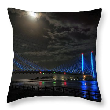 A Light From Above Throw Pillow