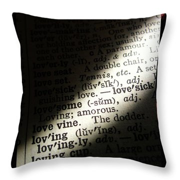 A Light On Love Throw Pillow