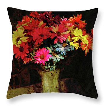 A Light Shines Into The Darkness Of My Soul 2 Throw Pillow